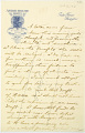 View Charles Lang Freer's letters to Frank Hecker during foreign travels, 1910-1911 digital asset number 4