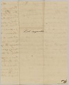 View List of enslaved persons hired out by AB Rouzee for the year 1812 digital asset number 1