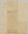 View List of enslaved persons hired out by AB Rouzee for the year 1813 digital asset number 1