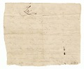 View Bill of sale for Charlotte and her daughter Kate to John Rouzee digital asset number 1