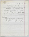 View Handwritten notes for a speech by Harold Williams as NOMA president digital asset number 5