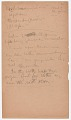 View Menominee linguistic notes and texts collected by Truman Michelson, 1910 digital asset number 1
