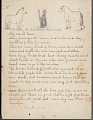 View Frank Calico drawing of and essay about horses digital asset number 1