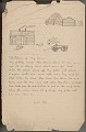 View Jacob Ribs drawing of and essay about the student's home digital asset number 1