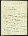 View Letter from Jeremiah Elkins to Asbury Dickens, Secretary of the Columbian Institute, May 22, 1823 digital asset number 1