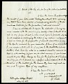 View Letter from F. Hall to Robert Little, Secretary of the Columbian Institute, May 27, 1827 digital asset number 1