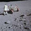 Charlie Duke on the Moon (Apollo 16)