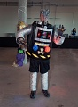 Visitor Dresses as Robot at Air & Scare