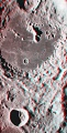 Aitken Crater on the Moon in 3-D
