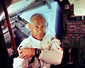 Apollo 11 Edwin E. (Buzz) Aldrin and Lunar Module Interior