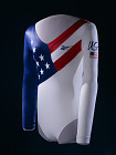 Olympic Gymnastics Leotard, worn by Dominique Dawes,  Date: 1990s