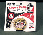 Duncan Mickey Mouse Club Yo-Yo,  Name: Duncan