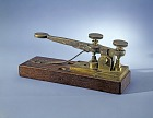 Morse-Vail Telegraph Key,  Name: Morse, Samuel Finley Breese, Vail, Alfred,  Date: 1840s