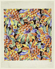 Design for Printed Fabric,  Name: Brubans, Stephen V.,  Date: 1940s, 1920s