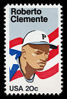 20c Roberto Clemente single,  Name: Clemente, Roberto,  Date: 1980s