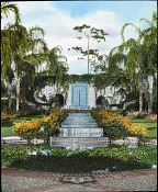 Unidentified Gardens in Palm Beach, Florida