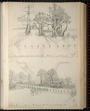 View of Stanley Pool..., 14th May 1886; Chief's house..., 21st May 1886