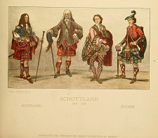 Scottish costumes.