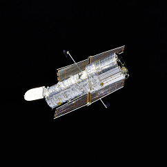 Spacecraft Hubble: Hubble in Flight, 2007, NASA