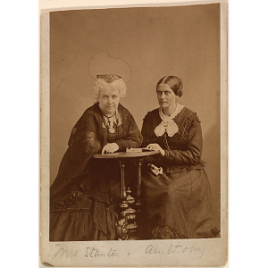 Thumbnail of Elizabeth Cady Stanton and Susan B. Anthony