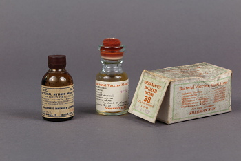 Bacterial vaccines from the 1930s.