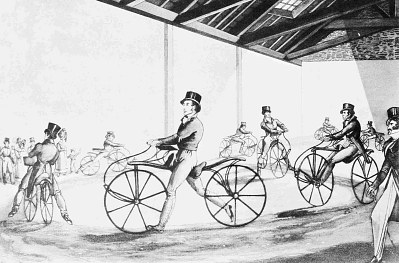 Johnson's Pedestrian Hobby Horse Riding School, 1819