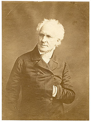 Rembrandt Peale, ca. 1846, by Rembrandt Peale, Photographic print, Charles Henry Hart autograph coll