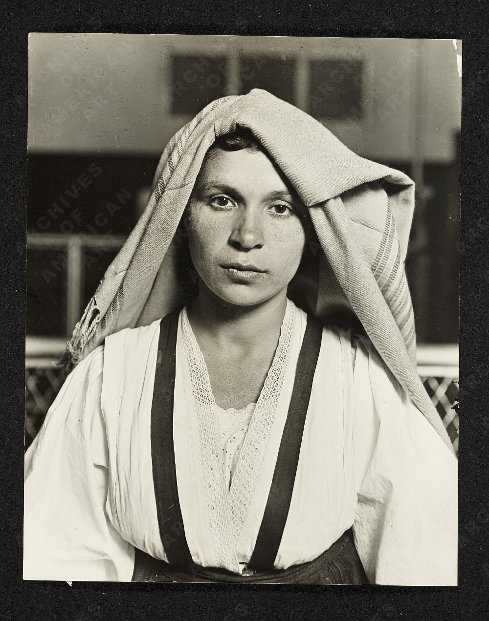 Albanian Woman by Lewis Hine