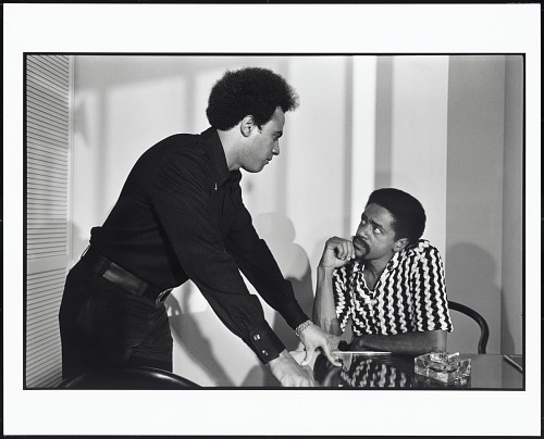 Huey Newton and Bobby Seale in Huey's Apartment, Oakland, California, 1971