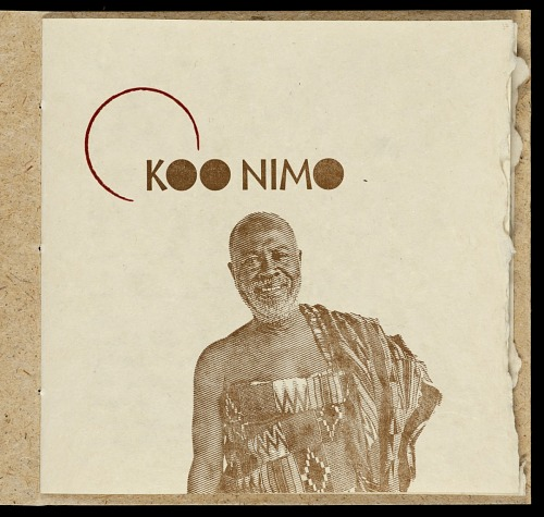 Listen, listen : Adadam Agofomma : honoring the legacy of Koo Nimo by Mary Hark, 2011. Koonimo Title Page. African Art Museum artists' books exhibit research image.