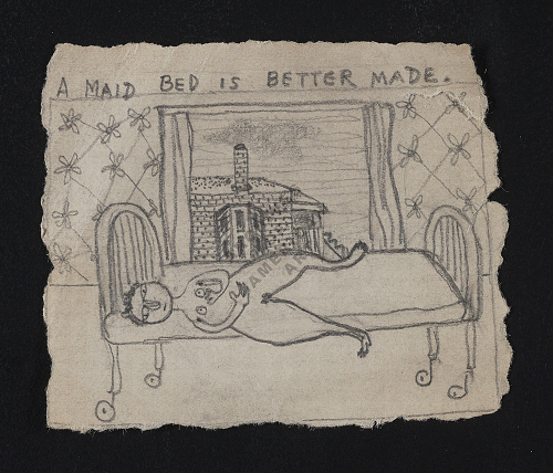 A maid bed is better made sketch