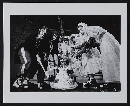 Promotional photo for Marriage: Chicago style?exhibit, 1970 / Donald Bulucos, photographer.