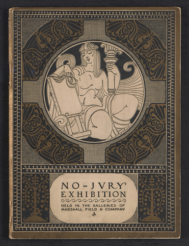 First annual exhibition of the Chicago No-Jury Society of Artists, 1922 catalogue, 1922.