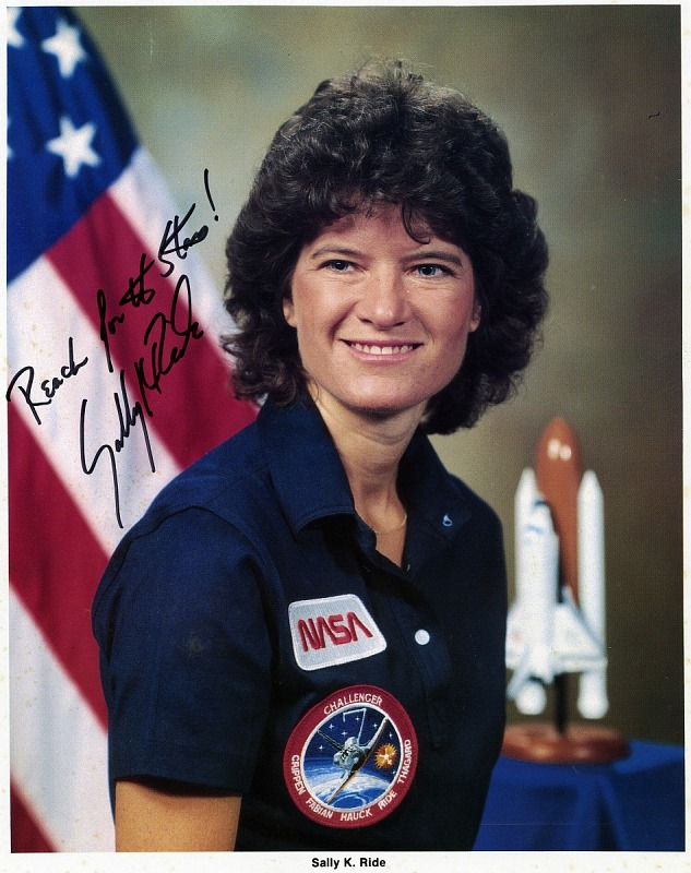 Dr. Sally K. Ride: First American Woman in Space