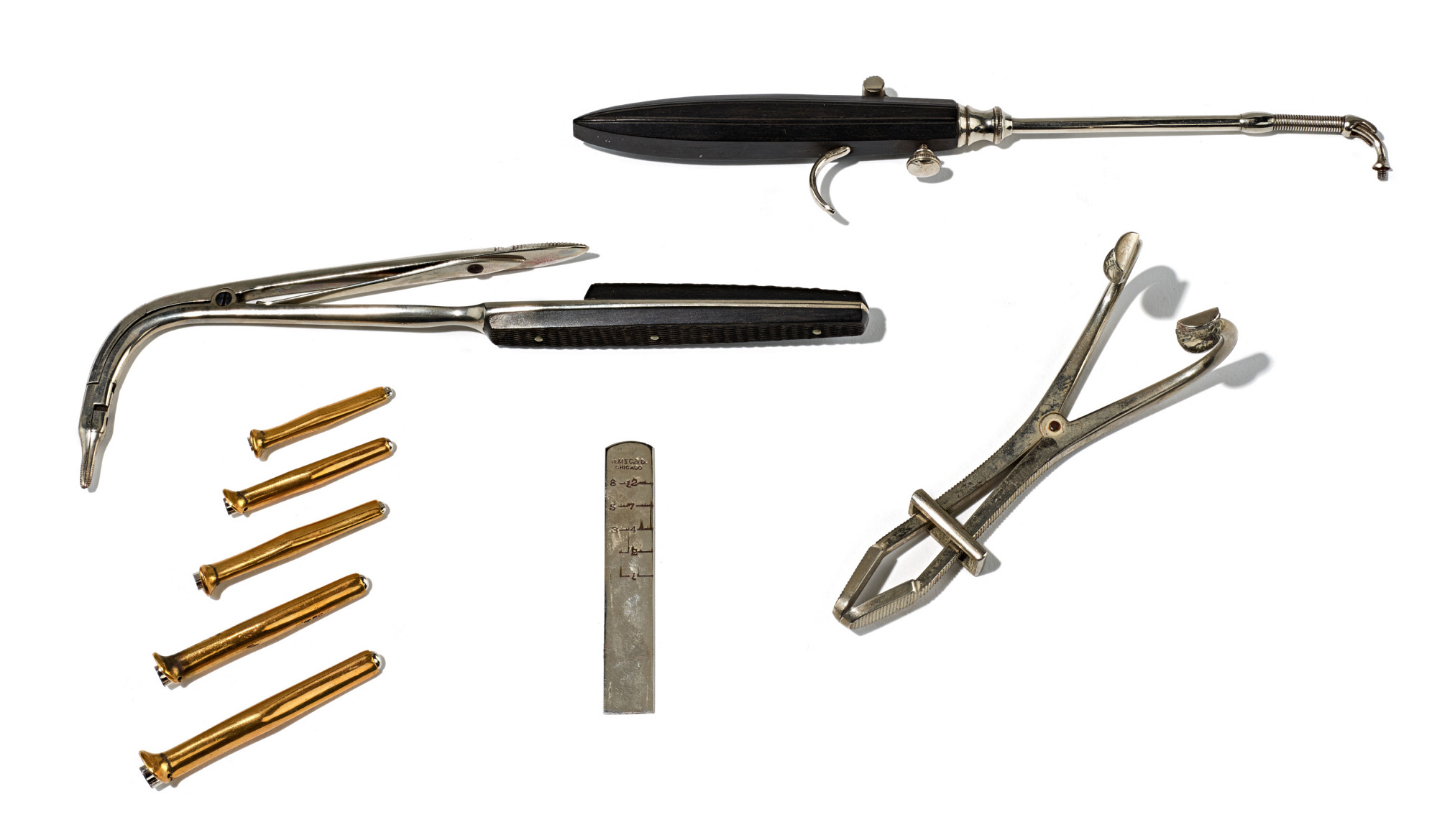 Intubation kit sold by Haussmann, McComb & Dunn