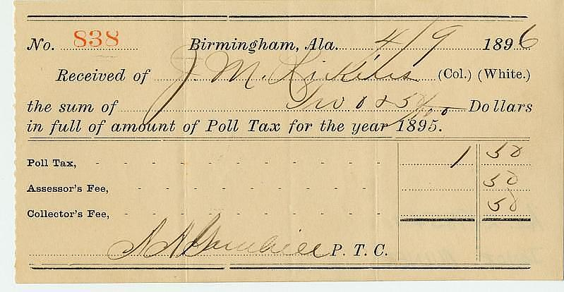 the impact and legacy of the emancipation proclamation national poll tax receipt