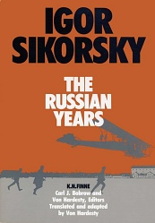 Book Cover: Igor Sikorsky, The Russian Years