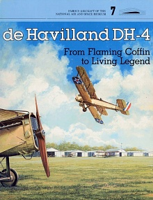 Book cover: de Havilland DH-4