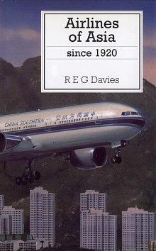 Book cover: Airlines of Asia Since 1920