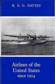 Book cover: Airlines of the United States since 1914
