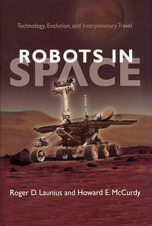 Book cover: Robots in Space