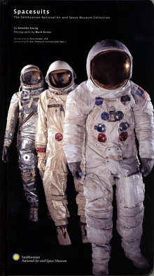 Book cover: Spacesuits