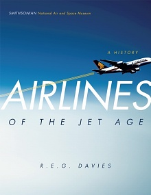 Book cover: Airlines of the Jet Age