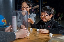 Children Enjoy Science Experiment