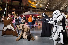 Star Wars Characters at Air & Scare at the Udvar-Hazy Center