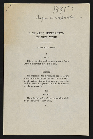 American Federation of Arts records · SOVA