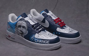 nike shoes made for obama button 7 /8th 849987