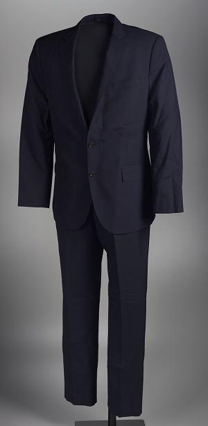 38b6c51664a2 Suit worn by Dr. Jamal Harrison Bryant to a protest in Ferguson, Missouri