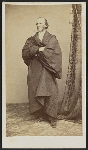 Carte De Visite Portrait Of William Henry Channing