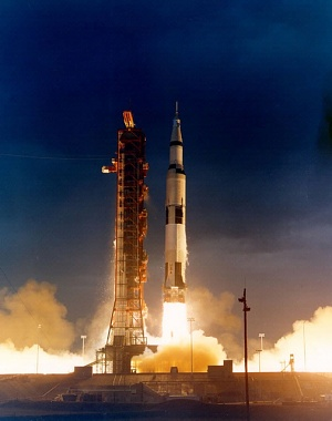 Apollo 14 Liftoff